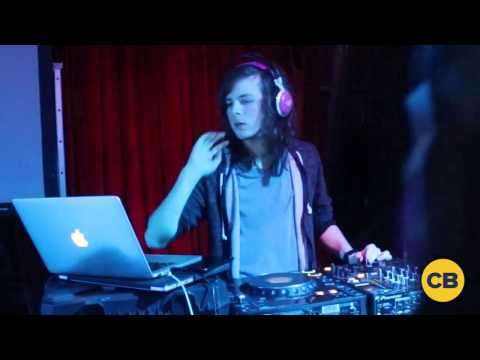 Chandler Riggs DJing on Walker Stalker Cruise