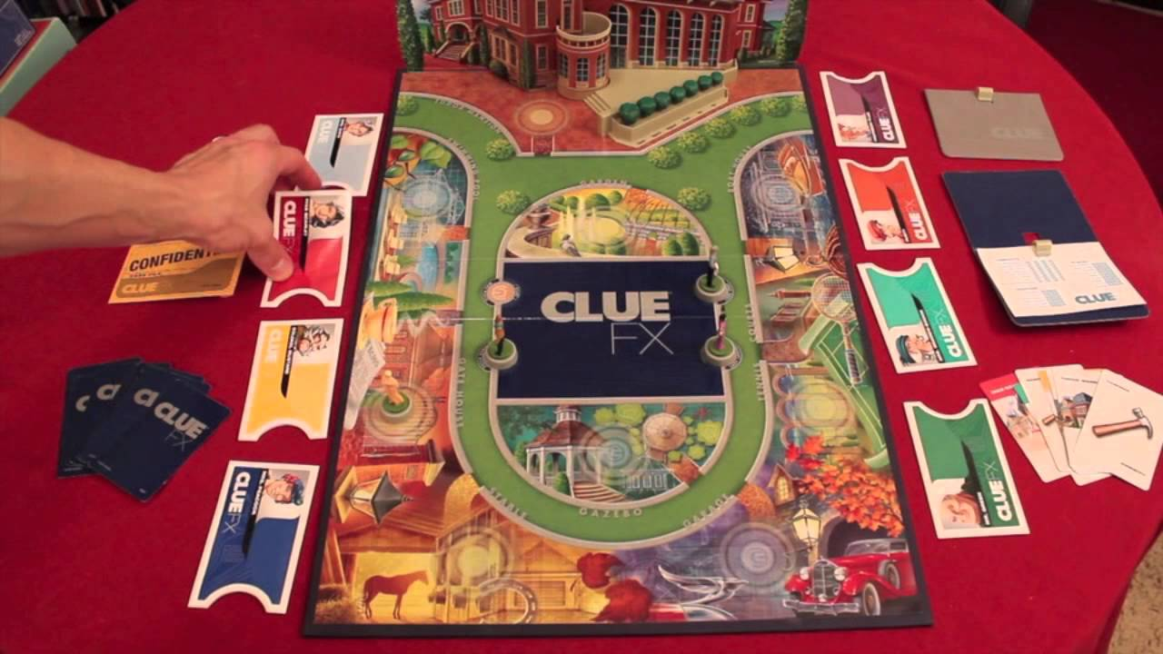 1963 vintage clue game replacement instructions rules parker.