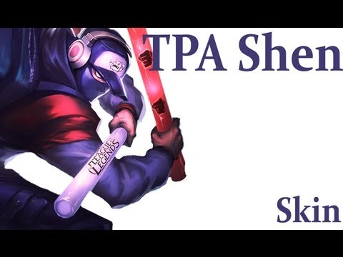 Tpa Shen Skin Preview League Of Legends Youtube