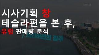 KBS 시사기획 창 테슬라편을 본 후, 유럽 판매량 분석