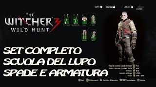[TUTORIAL] SET COMPLETO ARMATURA SPADA DEL LUPO  THE WITCHER 3 PS4,XBOX ONE, PC