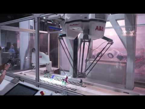 ABB delta robot sorting