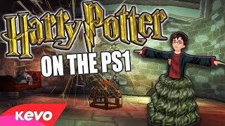 Harry Potter on the PS1 but there is a troll in the dungeon