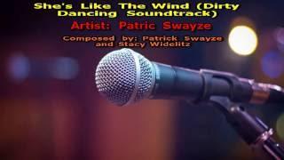 She's Like The Wind - (Karaoke HD) Patric Swayze