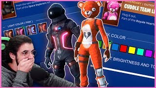 CHANGING THE COLOR OF THE SKINS! -FORTNITE | SEASON 5 [CONCEPT-ART]
