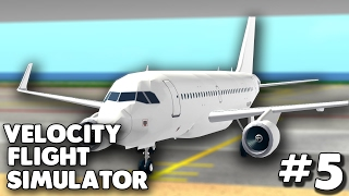 MON MEILLEUR FLIGHT SUR VELOCITY! #5 Velocity Flight Simulator (fr) Roblox