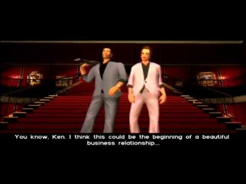 Grand Theft Auto Vice City: Let's Play VC Part 33 Ending/Credits and Post Credits Phone Calls