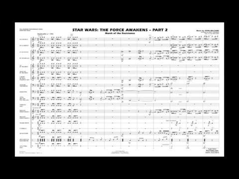 Star Wars - The Force Awakens - Part 2 by John Williams/arr. Matt Conaway