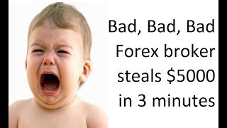 Scam Forex Broker West Valley (NumberoneForex) steals a Forex account in 3 min. See actual Recording
