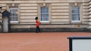 guardsman in trouble over buckingham palace pirouette 04 09 14