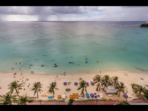 Outrigger Guam Beach Resort Video Review - Luxury hotel in the Pacific