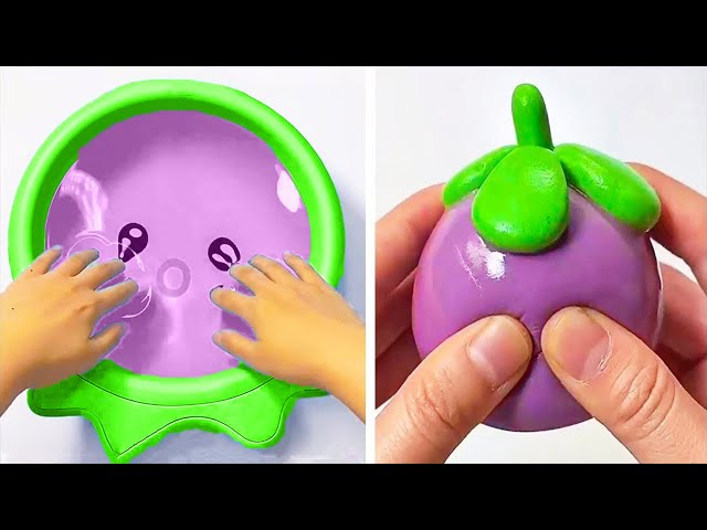 Oddly Satisfying Slime ASMR No Music Videos | Relaxing Slime 2020 | 10