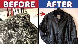 Clean Clothes and Fabric Furniture Exposed To Mold Spores with Baking Soda and Vinegar