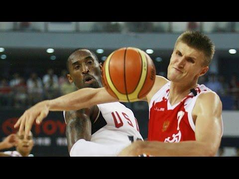 Russia vs USA 2008 Olympics Men