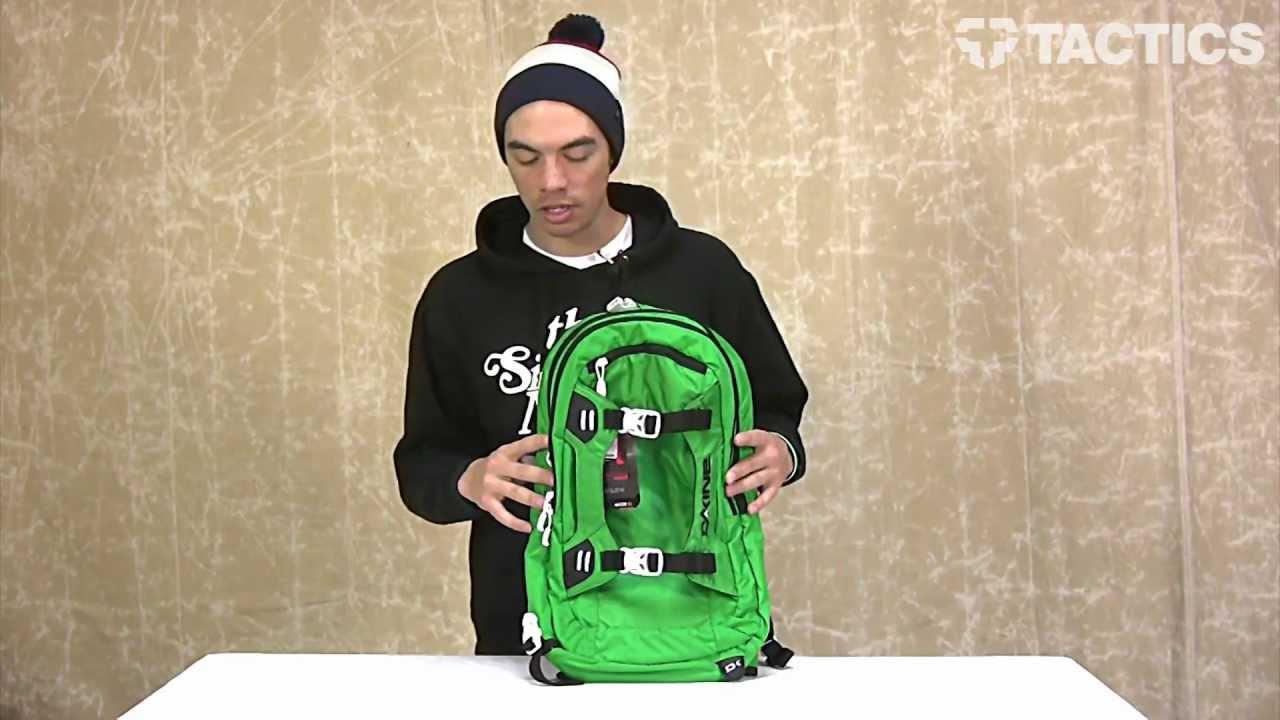 Dakine 2013 Baker Backpack Review - Tactics.com - YouTube