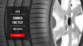 2018 Summer Tire Test Results | 205/55 R16