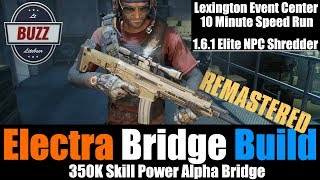 THE DIVISION | Lexington Speed Run 10 minutes Alpha Bridge Update 1.6.1