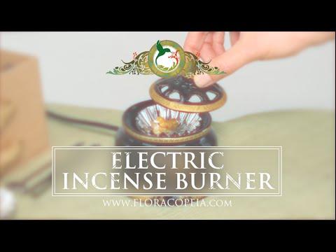 Floracopeia's Electric Incense Burner