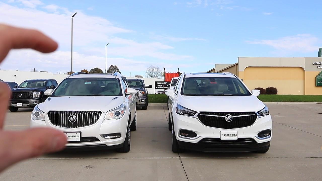 2018 Buick Enclave Comparison