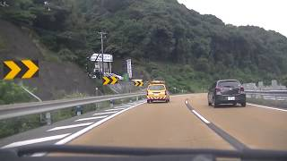 川平有料道路→長崎バイパス→間ノ瀬→滝の観音横→矢上付近 20170924 102836