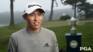 PGA Champion Collin Morikawa Message for Golfers Looking to Improve