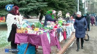 Новогодняя ярмарка на площади Победы