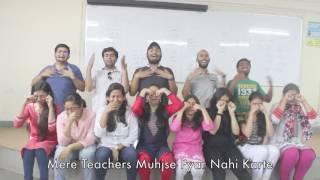 bvp it   farewell video   class of 2013 2017   zindagi barbaad ho giya
