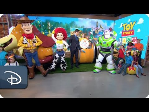 Toy Story Land Announcement on Good Morning America