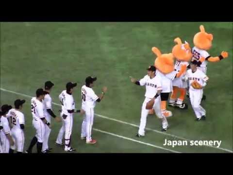 【Yomiuri Giants 読売巨人】Japanese Professional Baseball in Tokyo Dome