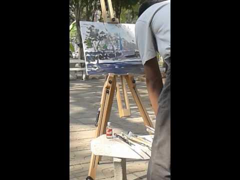 วาดภาพสีน้ำมัน
