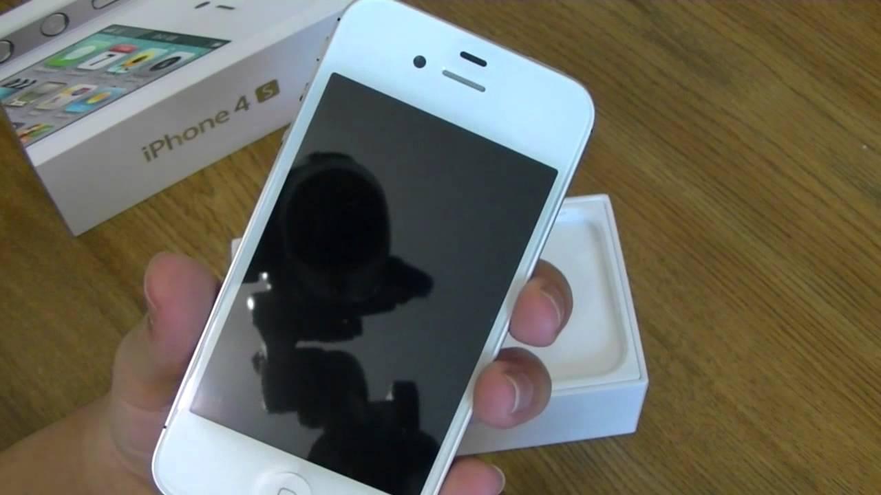 фото айфон белый 4с