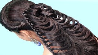 Beautiful Hairstyles for School Girls | Easy Hairstyles for long hair | Hair Style Girl | Hairstyles