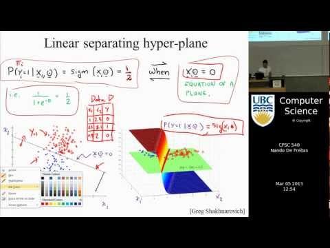 Machine learning - Logistic regression