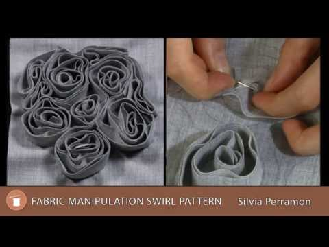Fabric Manipulation Swirl Pattern - Preview