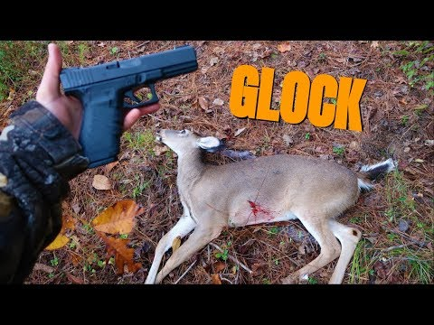DEER HUNTING WITH GLOCK 20! Opening Day Hunt!