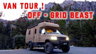 4x4 Van Tour  Custom Adventure RV Starflyte 2.0 ! 4WD RV!
