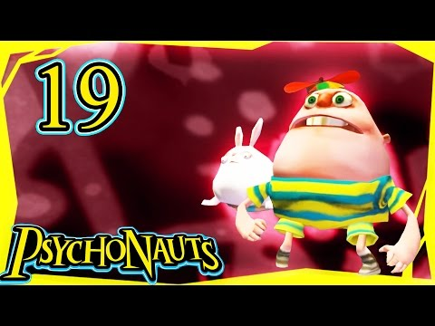Let's Play Psychonauts Part 19 -  Meat Circus Hell [Gameplay/Walkthrough]