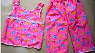 EASY SEW NIGHT WEAR FOR KIDS...........