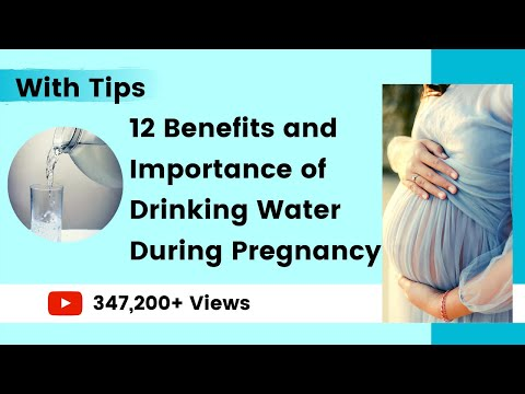 Importance Of Drinking Water During Pregnancy | Water During Pregnancy | YourYouTubeMom