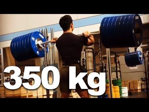 Toshiki Yamamoto - Weightlifting Training Progress