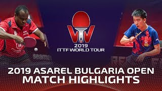 Aruna Quadri vs Ma Te | 2019 ITTF Bulgaria Open Highlights (R32)