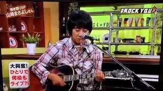 生演奏!ヤサ男の夢をTVでLIVE演奏!