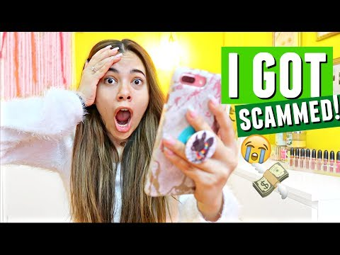 A WEBSITE SCAMMED ME $551.50! Storytime. Do not trust these websites.