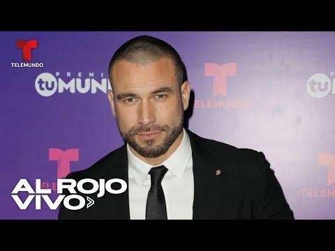 Rafael Amaya habla por primera vez de su adicción a las drogas y el alcohol
