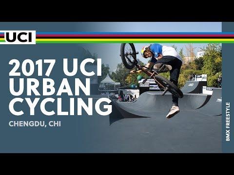 2017 UCI Urban Cycling - Chengdu (CHI) / Men Elite BMX Freestyle