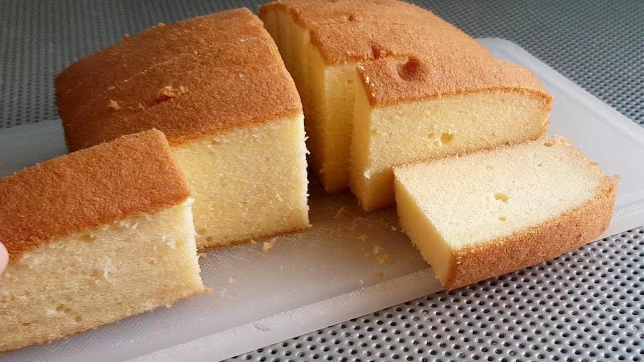 บัตเตอร์เค้ก หม้อทอดไร้น้ำมัน สูตรทำง่าย ใช้ตะกร้อมือ ไม่ใช้สารเสริมSP l แม่มิ้วl Butter Cake