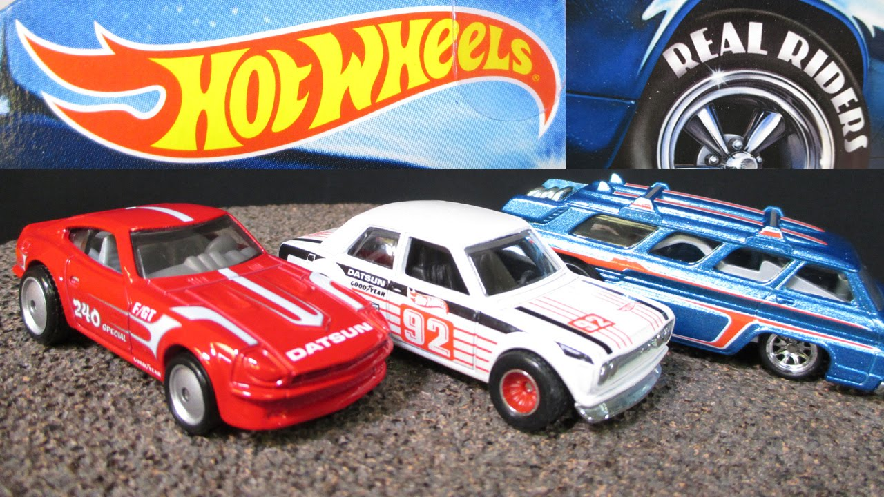 2015 A Hot Wheels Heritage Real Riders with Datsun 240Z ...