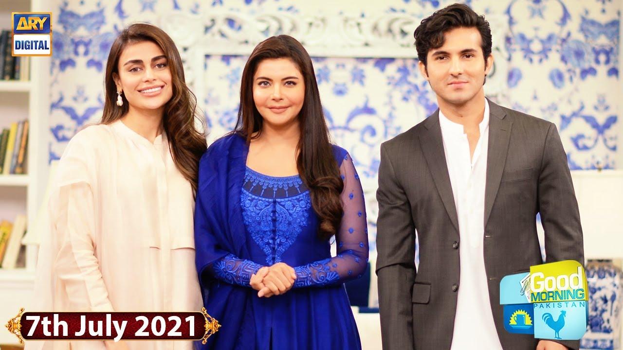 Download Good Morning Pakistan - Shehroz Sabzwari - Sadaf Kanwal - 7th July 2021 - ARY Digital Show