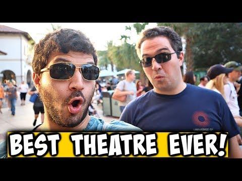 Best Movie Theatre EVER! Disney Springs AMC Dine In Theatre Review   Plus Terminator Dark Fate Revie