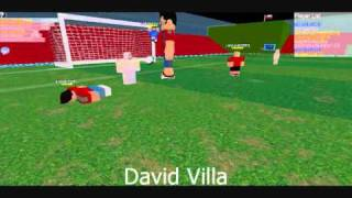 Roblox - Spain goals in South africa 2010